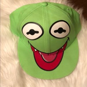 Disney The Muppets Kermit The Frog SnapBack Hat